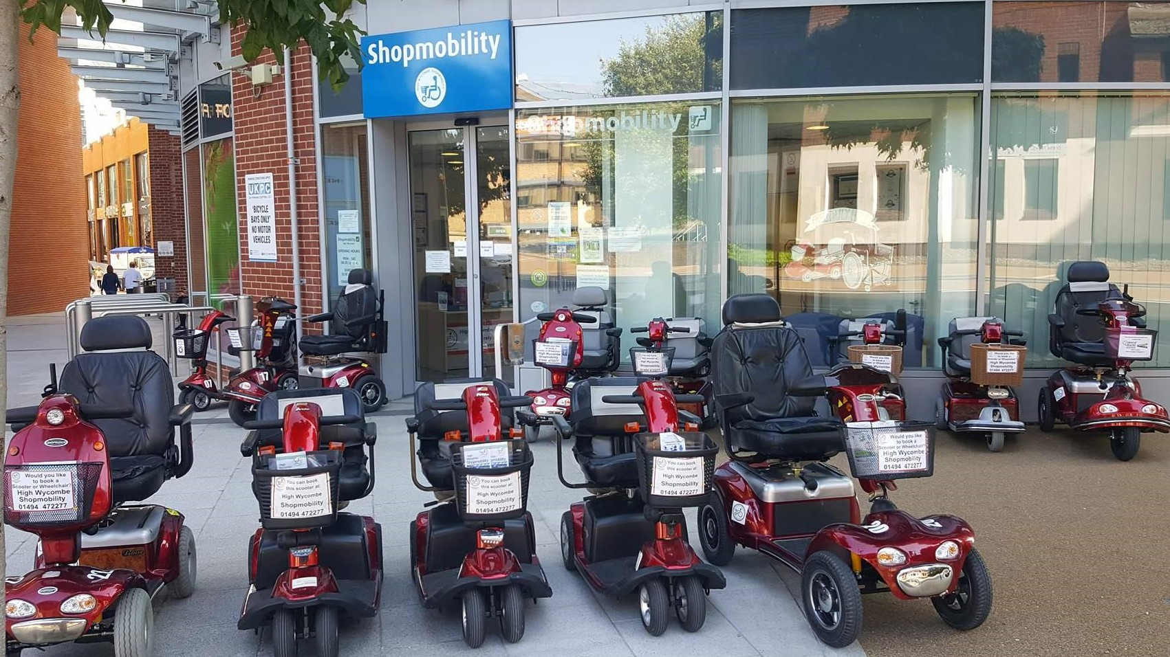 High Wycombe ShopMobility: ShopMobility UK Scheme of the Month (October 2021)